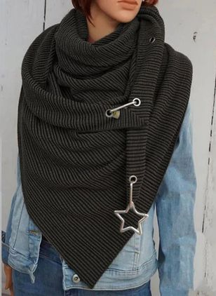 Casual Solid Scarves (128227881)
