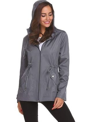 Long Sleeve Hooded Coats Jackets