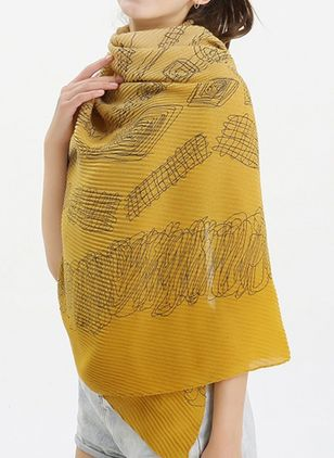 Casual Geometric Scarves (104135094)