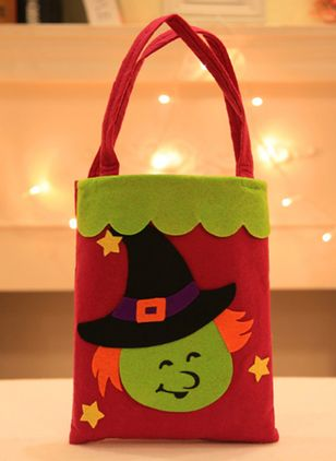 Tote Halloween Print Double Handle Bags (108857950)
