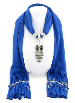 Casual Solid Scarves (111853039)