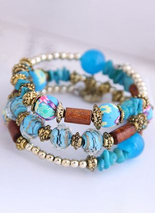 Casual Beaded Bracelets (2201218)