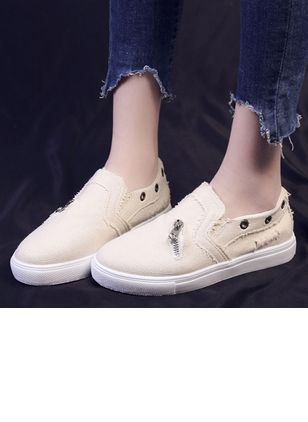 Denim Shoes With Zipper (5243536)