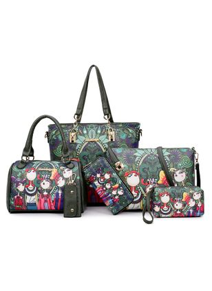 Bag Sets Fashion Print Double Handle Bags (1458546)