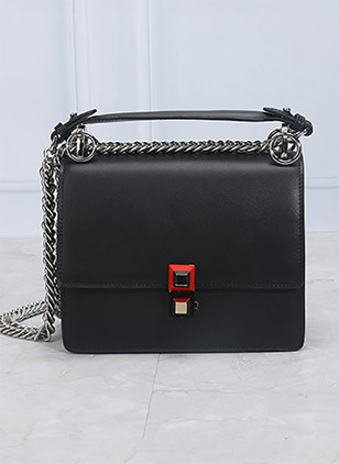 Shoulder Messenger Real Leather Chain Bags