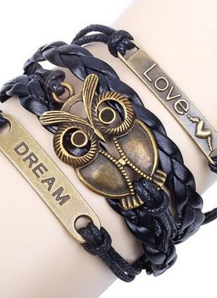 Casual Animal No Stone Bracelets (4047734)