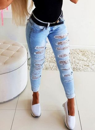 Jeans Skinny Mulheres (4135457)