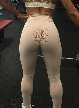 Women's Athletic Casual Sexy Sporty Cotton Blends Yoga Pants Fitness & Yoga (1518454)
