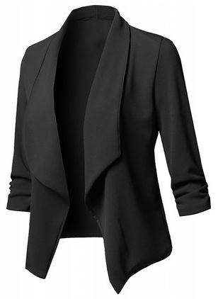 3/4 Sleeves Lapel Coats