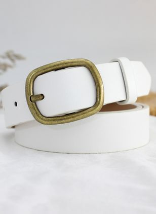 Casual Metal Color Block Belts (4049691)