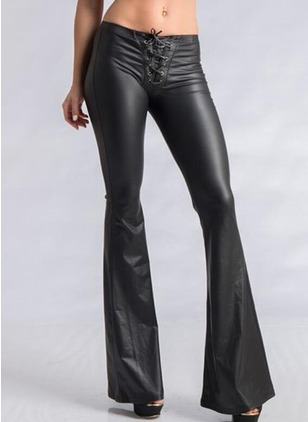 Bootcut Leather Pants Pants & Leggings