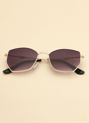 Casual Sunglasses Metal Frame Alloy Sunglasses (106367466)