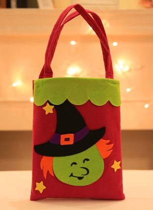 Tote Halloween Print Double Handle Bags (108857943)