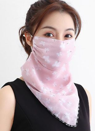 Casual Floral Scarves (1523162)