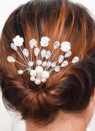 Floral Water Drop Hair Accessories Single