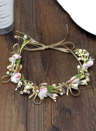 Floral Hair Hoop Single