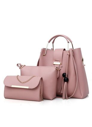 Shoulder Fashion Tassel Double Handle Bags (147083730)
