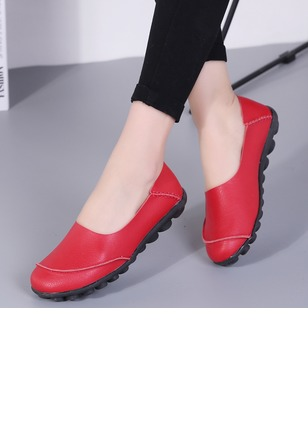 Closed Toe Flat Heel Shoes