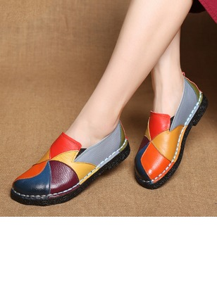 Split Joint Closed Toe Low Heel Shoes (1237300)