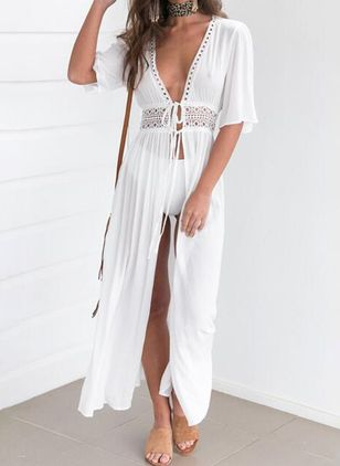 Plain Sashes Sleepwear (1521591)