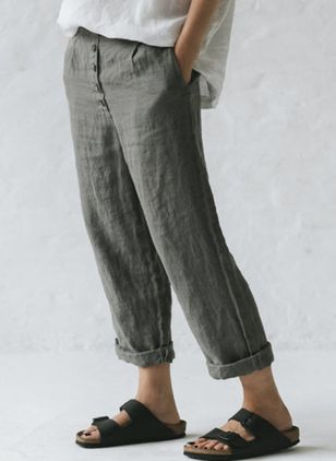 Women's Straight Pants (4458599)