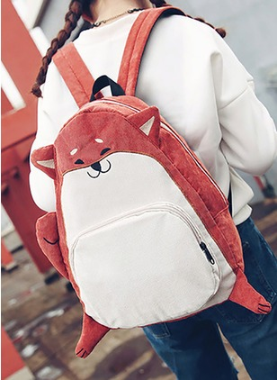 Backpacks Fashion Canvas Print Convertible Bags