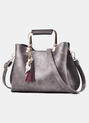 Shoulder Fashion Tassel Double Handle Bags (107562597)