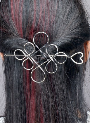 Geometric Hair Clips Single