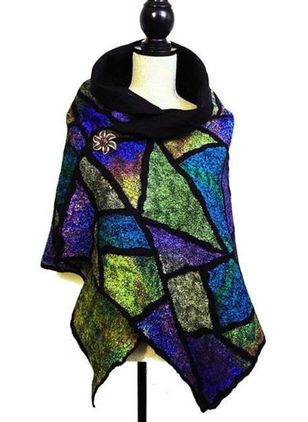 Casual Color Block Scarves (146712873)