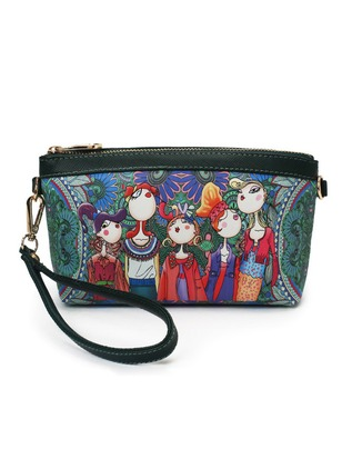 Clutches Print Adjustable Bags