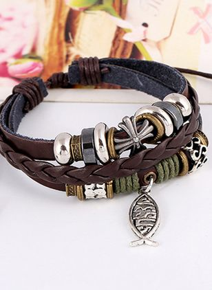 Casual Animal No Stone Bracelets (4047739)