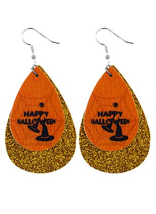 Halloween Water Drop No Stone Dangle Earrings (107805722)