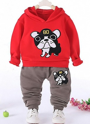 Boys' Animal Others Long Sleeve Tops