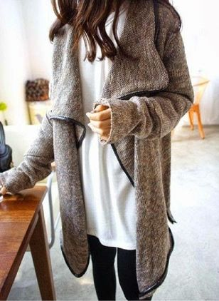 Long Sleeve Sweaters Coats (106821923)