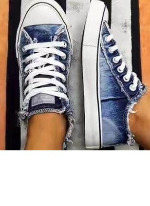 Denim Shoes With Lace-up (4339236)