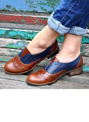 Closed Toe Low Heel Shoes