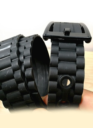 Casual Polyester Solid Belts