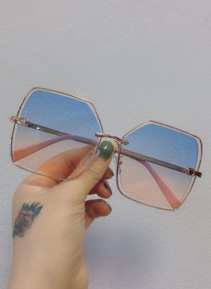 Casual Sunglasses Metal Frame Metal Sunglasses (1511706)