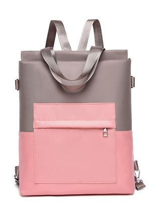 Backpacks Color Block Fashion Zipper Adjustable Bags (1529812)