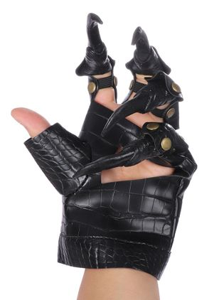Women's Halloween Leather & Faux Leather Gloves & Mittens Fingerless Gloves (108857905)