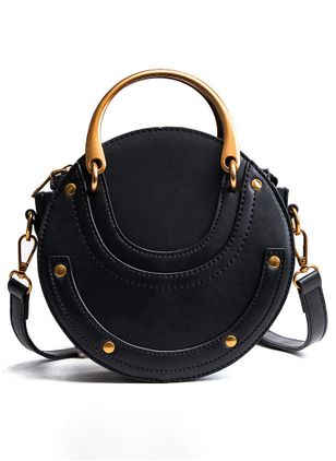Shoulder Fashion Zipper Double Handle Bags (147045290)