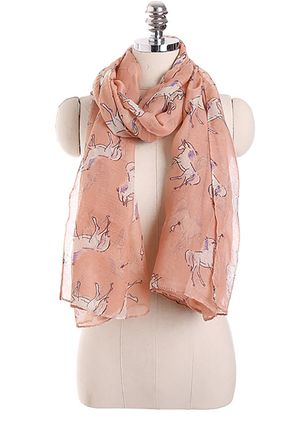 Casual Animal Scarves