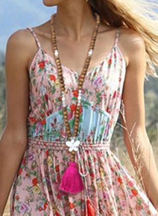 Boho Tassel Pendant Necklaces (1540480)