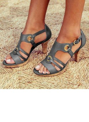 Sandals Women's Heels Tumit datar