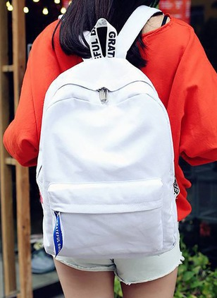 Backpacks Fashion Canvas Zipper Bags
