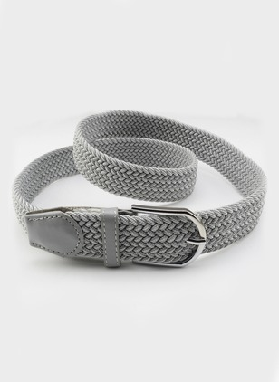 Elegant Fabric Solid Belts