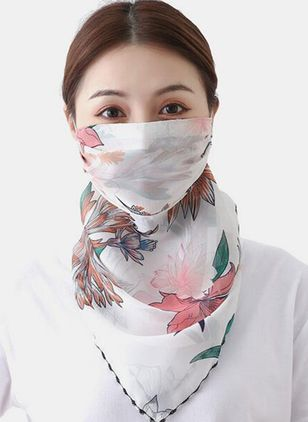 Casual Floral Scarves (4456827)