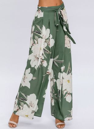 Women's Plus Size Loose Pants (1245181)