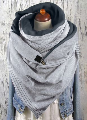 Casual Geometric Scarves (1481795)
