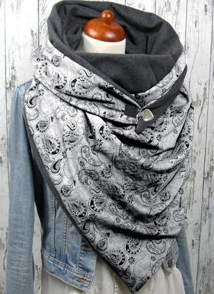 Casual Geometric Scarves (1481818)